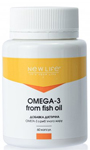 OMEGA-3 FROM FISH OIL 60 КАПСУЛ У БАНОЧЦІ